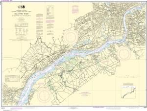 OceanGrafix — NOAA Nautical Chart 12312 Delaware River Wilmington on