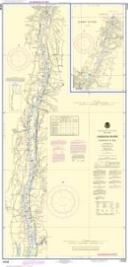 thumbnail for chart Hudson River Coxsackie to Troy