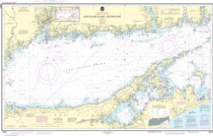 OceanGrafix — NOAA Nautical Chart 12354 Long Island Sound Eastern on map of eastern rhode island, map of boston sound, map of washington sound, map of rhode island sound,