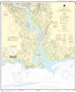 Connecticut River Long lsland Sound to Deep River | NOAA Nautical ...