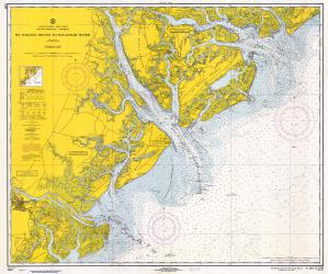 Sc 1967 St Helena Sound To Savannah River