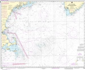 Oceangrafix Noaa Nautical Chart 13009 Gulf Of Maine And Georges Bank