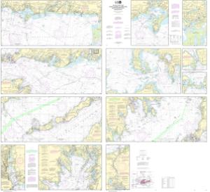 Oceangrafix Noaa Nautical Chart 13229 South Coast Of Cape Cod