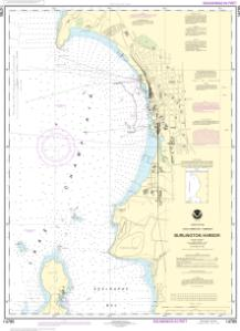 thumbnail for chart Burlington Harbor