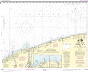 thumbnail for chart Thirtymile Point, N.Y., to Port Dalhousie, Ont.