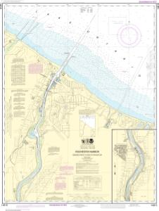 thumbnail for chart Rochester Harbor, including Genessee River to head of navigation