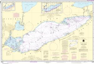 Lake Erie Noaa Nautical Chart 14820