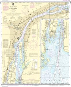OceanGrafix — NOAA Nautical Chart 14848 Detroit River