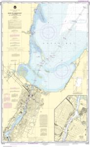 thumbnail for chart Head of Green Bay, including Fox River below De Pere;Green Bay