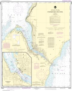 thumbnail for chart Sturgeon Bay and Canal;Sturgeon Bay