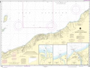 thumbnail for chart Redridge to Saxon Harbor;Ontonagon harbor;Black River Harbor;Saxon Harbor