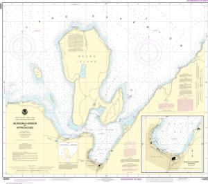 thumbnail for chart Munising Harbor and Approaches;Munising Harbor