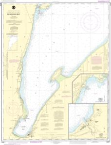 thumbnail for chart Keweenaw Bay;L Anse and Baraga Harbors