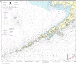 thumbnail for chart Alaska Peninsula and Aleutian Islands to Seguam Pass