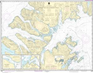 thumbnail for chart Marmot Bay and Kupreanof Strait;Whale Passage;Ouzinkie Harbor