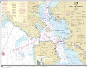 Entrance To San Francisco Bay Noaa Nautical Chart 18649