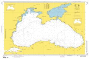 OceanGrafix — NGA Nautical Chart 55001 INT. 310, Black Sea on
