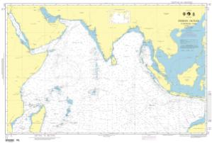 OceanGrafix — NGA Nautical Chart 71 Indian Ocean-Northern