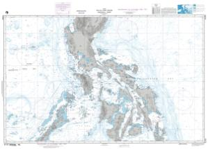 OceanGrafix — NGA Nautical Chart 91005 Philippines-Central