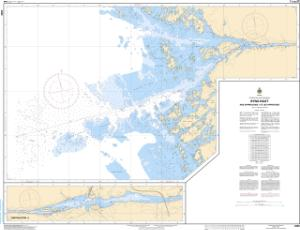 thumbnail for chart Byng Inlet and Approaches / et les approches