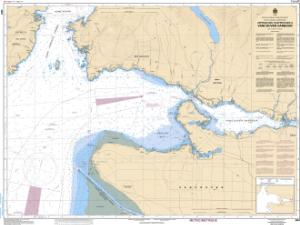 thumbnail for chart Approaches to/Approches à Vancouver Harbour