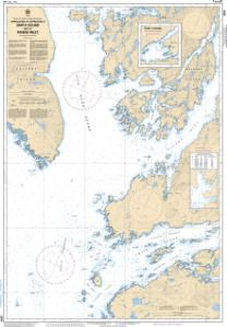 thumbnail for chart Approaches to/Approches à Smith Sound and/et Rivers Inlet