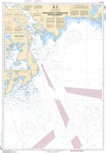 thumbnail for chart Approaches to / Approches de Halifax Harbour