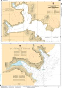 thumbnail for chart Plans - East Coast of the Island of Newfoundland/Côte Est de lÎle de Terre Neuve