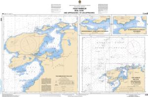 thumbnail for chart Fogo Harbour / Seal Cove and Approaches / et les approches