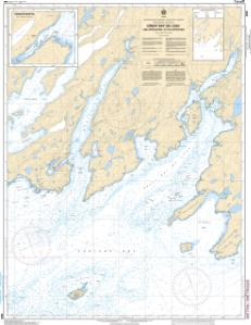 thumbnail for chart Great Bay de lEau and Approaches / et les approches