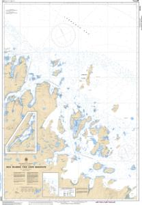 thumbnail for chart Dog Islands to / à Cape Makkovik