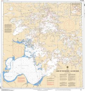 OceanGrafix — CHS Nautical Chart CHS6201 Lake of the Woods