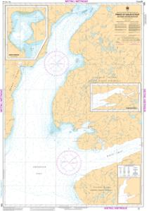 thumbnail for chart Prince of Wales Strait, Southern Portion/ Partie Sud