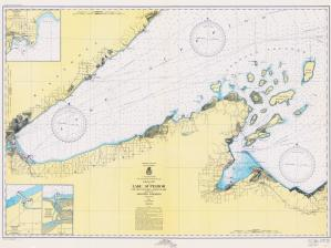thumbnail for chart MI,1950,W. End LK Superior, Apostle Islands