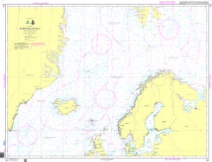 thumbnail for chart Norwegian Sea and adjacent seas